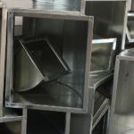 排気 ダクト 制作 製作 工事 45度 配管