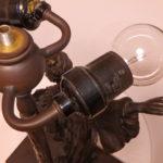 インテリア照明 アンティーク 修理