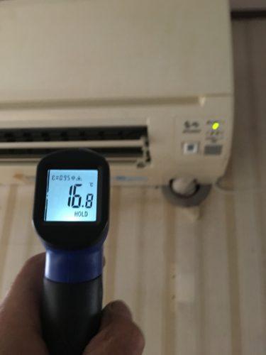 エアコン 温度測定 修理 交換 取付