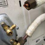 エアコン 室外機 ガス漏れ 配管
