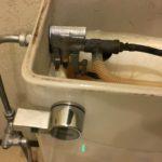 タンクの水漏れ トイレ