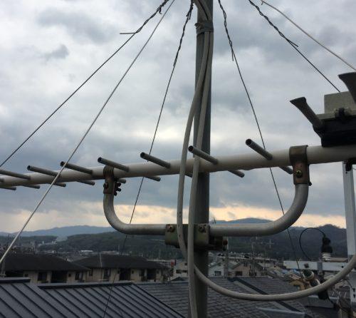 アンテナ 風 強化 修理 BS 地デジ