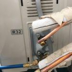 エアコン ガス漏れ 修理