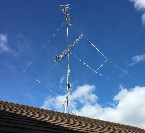 アンテナ 修理 交換 工事