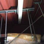 天吊金具 天井裏 エアコン