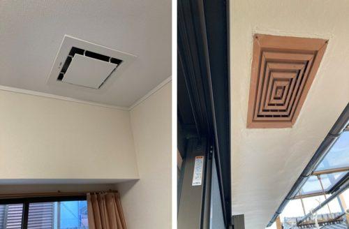 換気扇 屋根裏 天井裏
